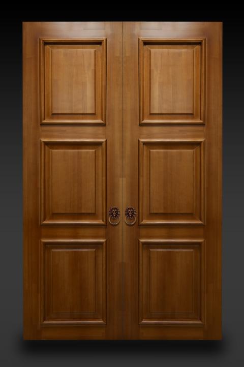 Межкомнатные двери из натурального