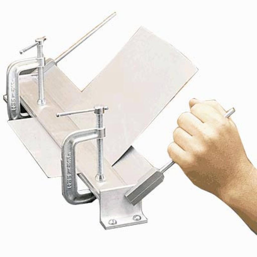 Как согнуть лист своими руками