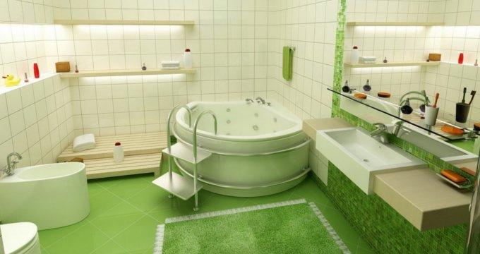 Как из комнаты сделать ванную комнату 153