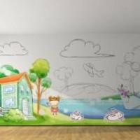 Маркерное покрытие в детской комнате