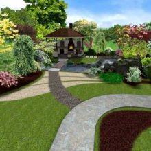 Качественный ландшафтный дизайн от квалифицированных специалистов