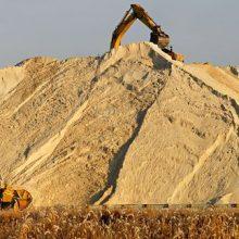 Строительный песок и другие сыпучие материалы в ООО Земляные ресурсы