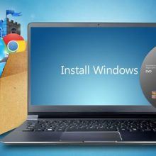 Установка Windows на ноутбуке в Киеве
