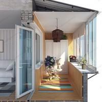 Преимущества балконов с выносом