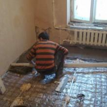 Ремонтируем в квартире пол