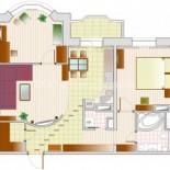 2 х комнатные квартиры
