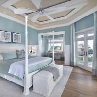 Оформление комнаты в мятных тонах