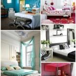 Декорирование спальной комнаты — уютно и красиво