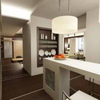 Правильная кухня в квартире-студии