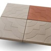 Тротуарная плита квадратной формы 33 х 33 см