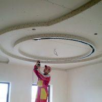 Потолки из гипсокартона — технология