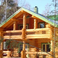 Дома из рубленого бревна