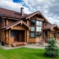 Бревенчатый дом — исконно человеческое жилье
