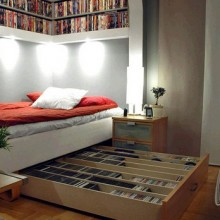Маленькая спальня: удачные решения