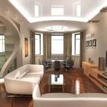 Идеальный дизайн гостиной комнаты
