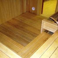 Устройство деревянных полов в бане