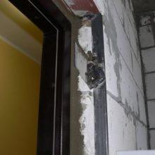 Утепление железной двери