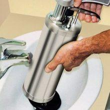 Как прочистить сильный засор в трубе?