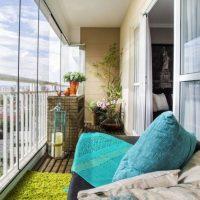 Остекленная лоджия – дополнительная полезная площадь