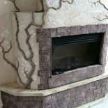 Материалы для укладки и декорирования камина