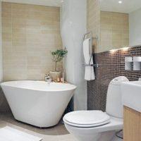 Маленькая ванная комната — какие части оборудования могут быть полезными