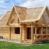 Срубы коттеджей — экологичные дома из дерева