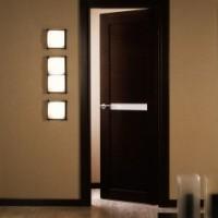 Двери венге в сочетании с ламинатом сделают дизайн необычным