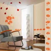 Цветочный орнамент в интерьере