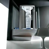 Гидромассажная ванная с душевой кабиной (гидробокс)