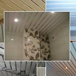 Преимущества реечных потолков