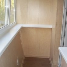Где можно заказать качественную обшивку балкона