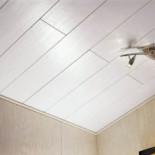 Как монтировать пластиковый потолок