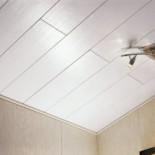 Как отделать потолок пластиковыми панелями