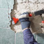 Удаление старой плитки
