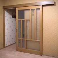 Как установить межкомнатные двери-купе