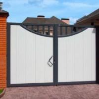 Как выбрать распашные ворота для забора
