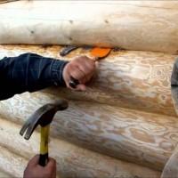 Как конопатить дом из сруба