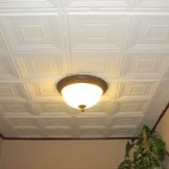 Клеевые потолки. Оклейка потолка обоями и потолочной пенополистирольной плиткой