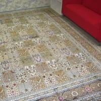 Шёлковый ковёр — отличное покрытие любого пола
