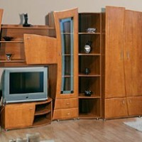 Нетрадиционные стенки для квартиры