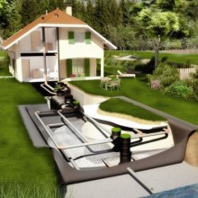 Автономные очистные сооружения для дачи
