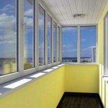 Профессиональное остекление балконов