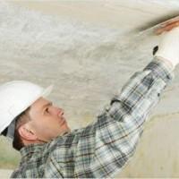Действия по выравниванию потолков