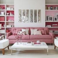 Розовые оттенки в интерьере жилища