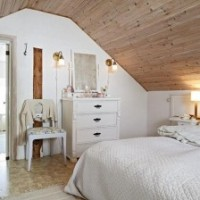Спальня в мансарде: дизайн интерьера