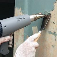 Как снять краску и подготовить поверхность стены