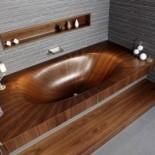 Универсальная деревянная ванна