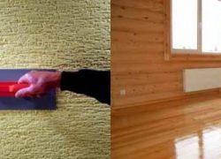 Особенности внутренней отделки стен