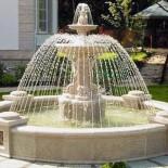 Основные стадии сооружения фонтана