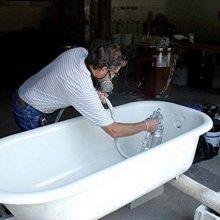 Реставрация эмали на ванной своими руками: выбираем материалы